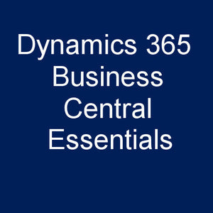 365 Business Central Essentials - Cloud - $65/user/month = $780/user/year.