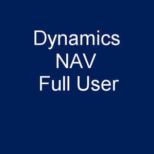 Dynamics NAV - Full User