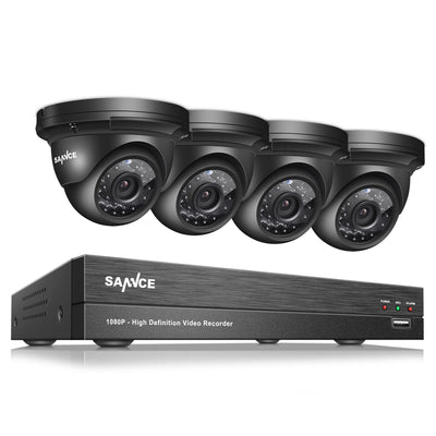 CCTV 4CH 1080 HD with Night Vision  Security System