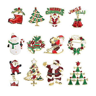 Christmas Enamel Pin (Choose one)