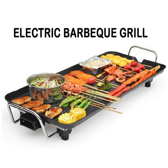 ELECTRIC INDOOR BARBEQUE GRILL PAN