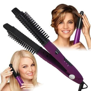 IONIC STYLER PRO [HOT BRUSH + CERAMIC FLAT IRON]