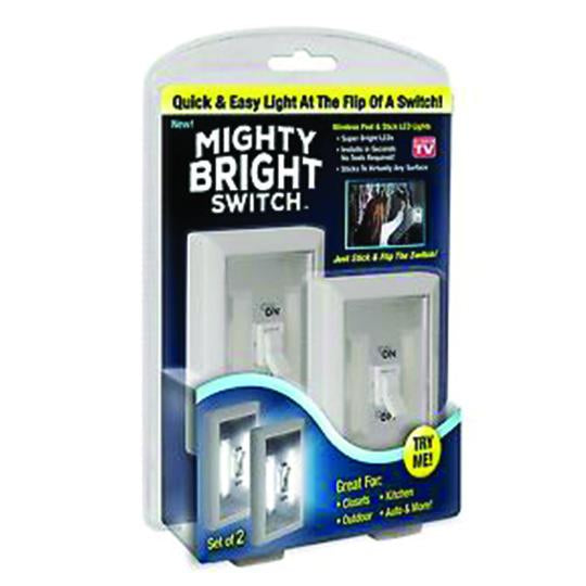 MIGHTY BRIGHT™ LIGHT CORDLESS SWITCH