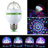 Rotating LED Stage Light Bulbs Disco Party