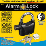 Alarm Lock®  [BUY 1, GET 1] Anti-theft Security Padlock