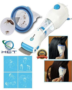 V Comb Electric Vacuum Lice and Nits Remover