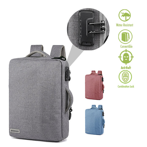 GadgetVerge™ Basic Convertible Anti Theft Bag - Widgetcityhub