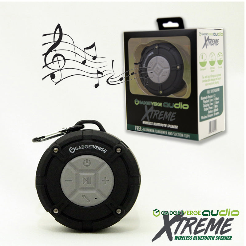 GadgetVerge™ Audio Xtreme Waterproof Bluetooth Speaker - Widgetcityhub