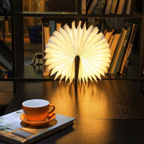 Foldable Book Lamp - Widgetcityhub