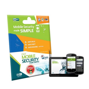 Eset Mobile Security 1 Device 1 Year Subscription - Widgetcityhub
