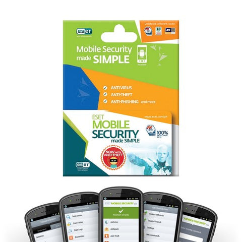 Eset Mobile Security 1 Device 1 Year Subscription