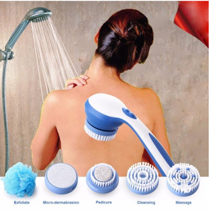 Spin Spa Brush with 5 in 1 attachment kit