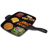 MAGIC PAN™ 5 IN 1 NON-STICK MULTI-SECTION PAN FRYER