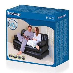 BESTWAY® 5 IN 1 AIR SOFA BED [WITH FREE AIR PUMP]