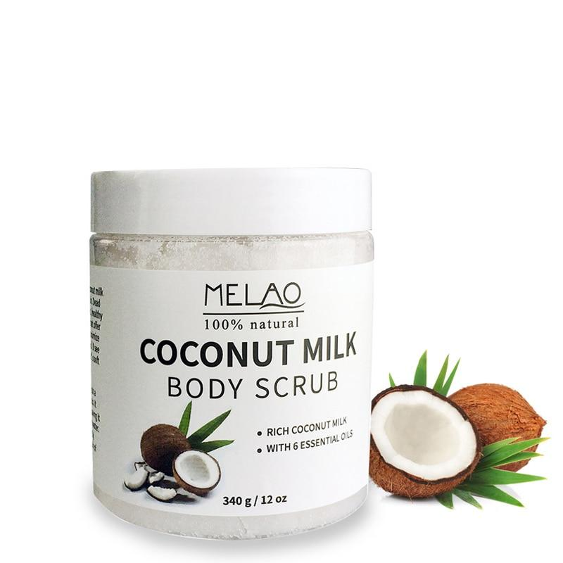 MELAO™ COCONUT FIRMING AND EXFOLIATING BODY SCRUB