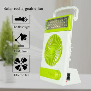 SHINE-BANK™ 3IN1 SOLAR LIGHT FAN
