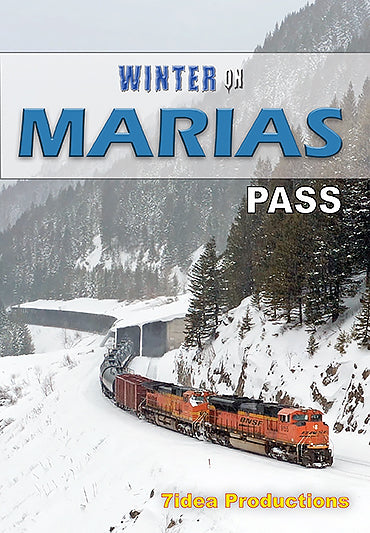 Winter on Marias Pass