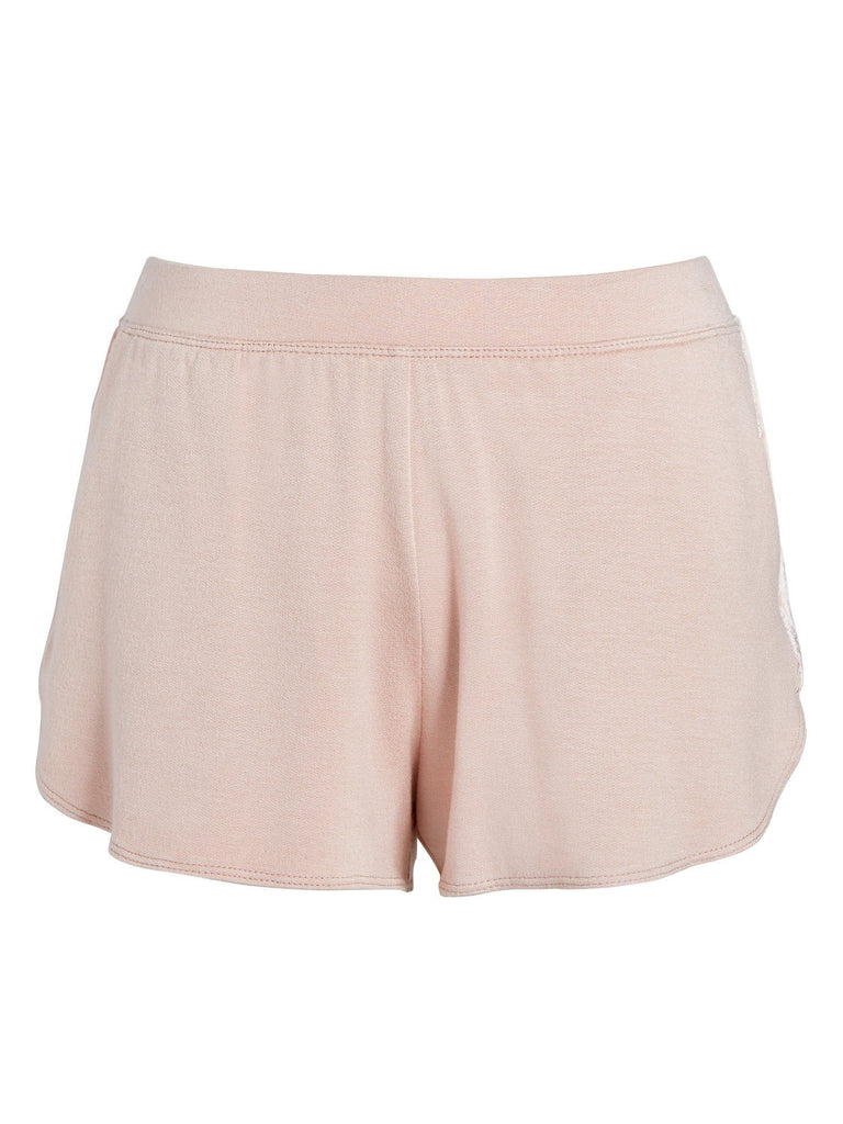 Ava Velvet Stripe Shortie Bottoms by Le Marché by NP