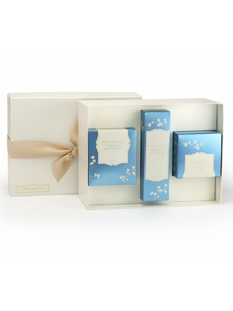 Boudoir Essentials Gift Set - Vanille Blanc Gift Sets by Naked Princess