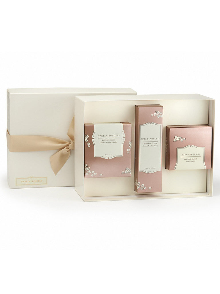 Boudoir Essentials Gift Set - Boudoir Blush Gift Sets by Naked Princess