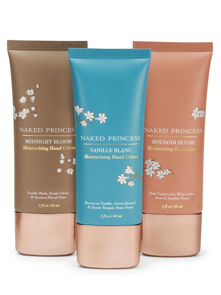 Hand Crème Trio Gift Sets by Naked Princess