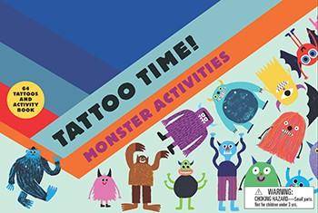 Tattoo Time! Monster Activity Book