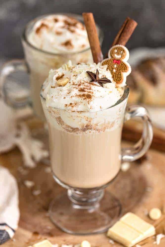 Gingerbread Spice & Everything Nice Latte