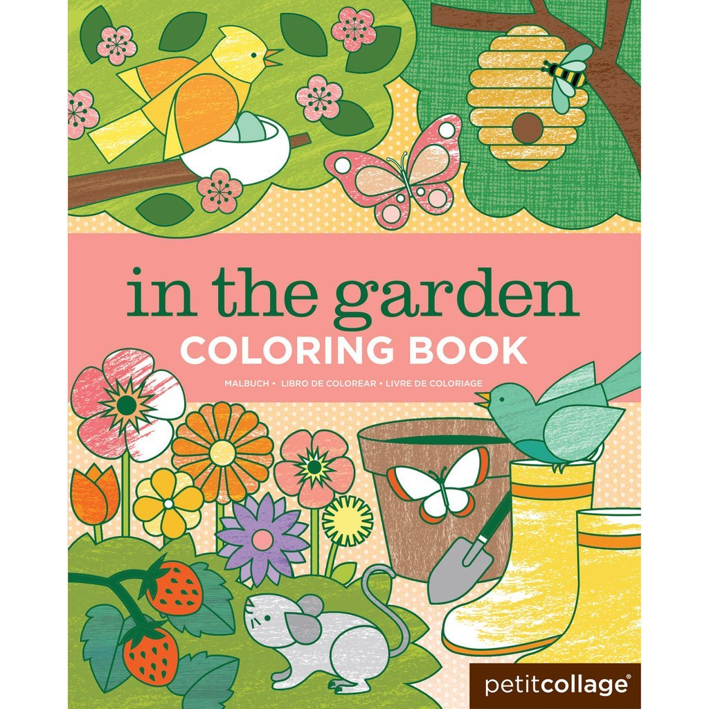 In The Garden Coloring Book