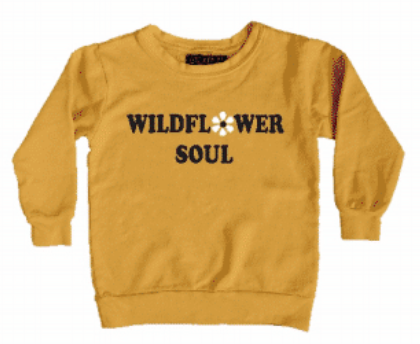 Wildflower Soul Boxy Sweatshirt