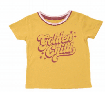 Golden Child Boxy Tee