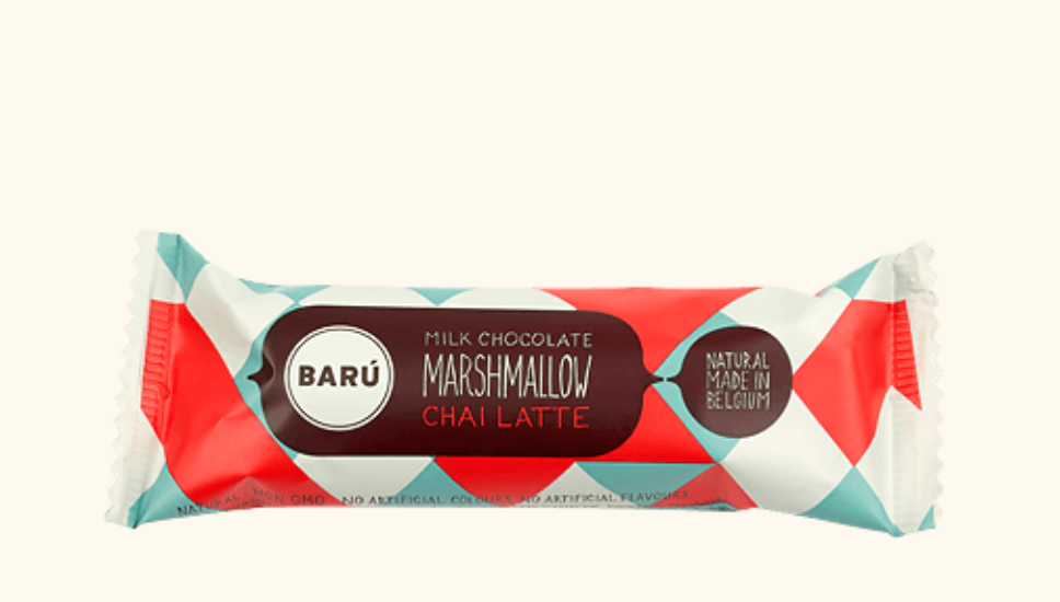 Baru Milk Chocolate Chai Marshmallow Bar