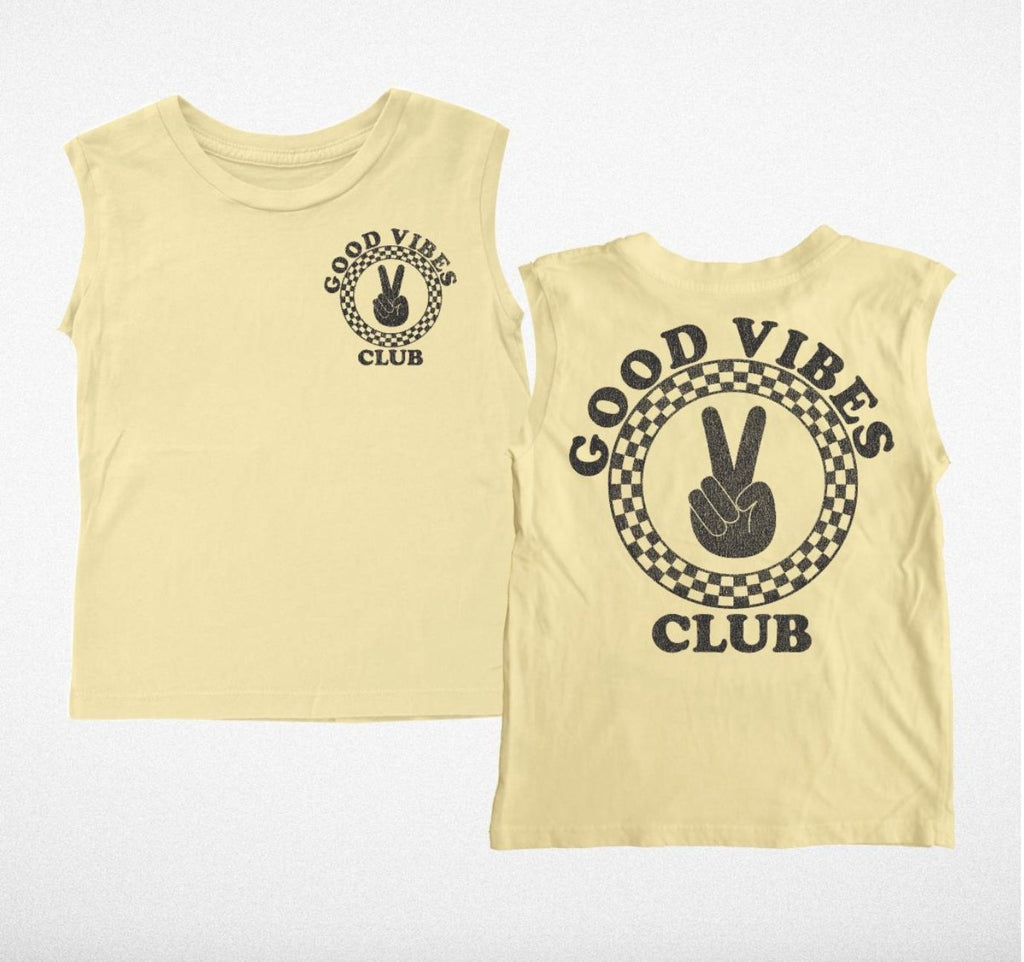 Good Vibes Club Muscle Tee