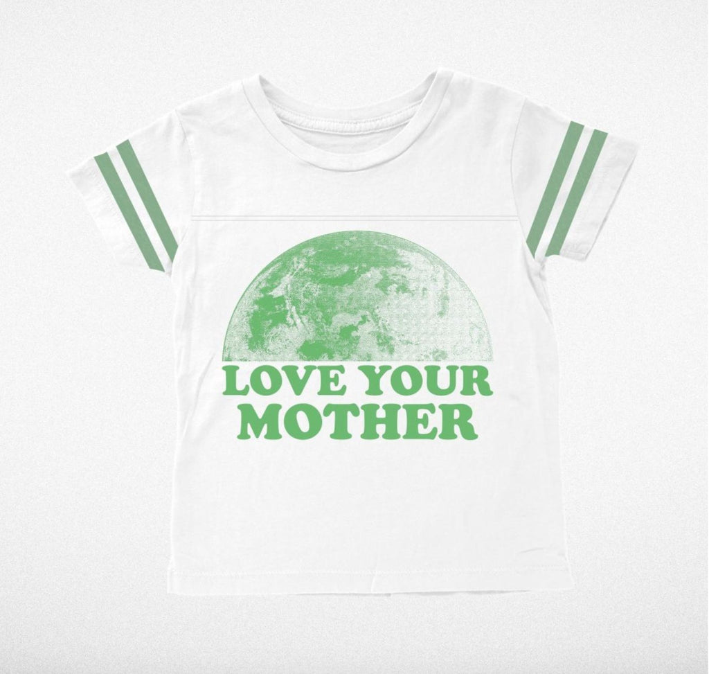 Love Your Mother Football Tee