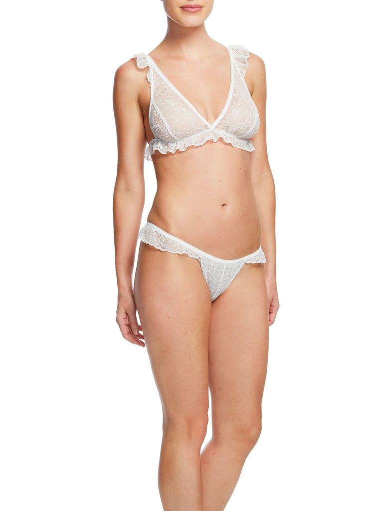 Tessa Ruffle Bralette Bras & Panties by Le Marché by NP