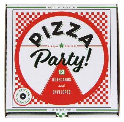 Pizza Party Notecards