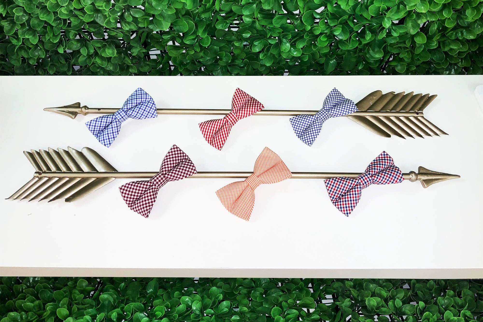 All variations of our Bowenties bow ties in the Fall 2019 Lowcountry Collection.