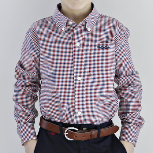 Bowen Arrow Button Down – Patriot's Point Plaid