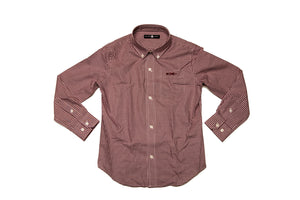 A Gadsten Garnet Gingham button down shirt