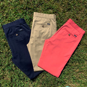Palmetto Pants together in several colors