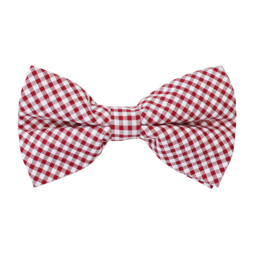 Mens Bowentie – Rutledge Red Gingham