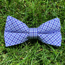 Load image into Gallery viewer, Close-up of Haddrell's Point Plaid Bowentie.