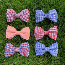 Load image into Gallery viewer, Closeup of all six variations of our Bowenties bow ties in the Fall 2019 Lowcountry Collection.