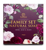 Family Set Natural Soap