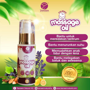 Baby Spa Massage Oil