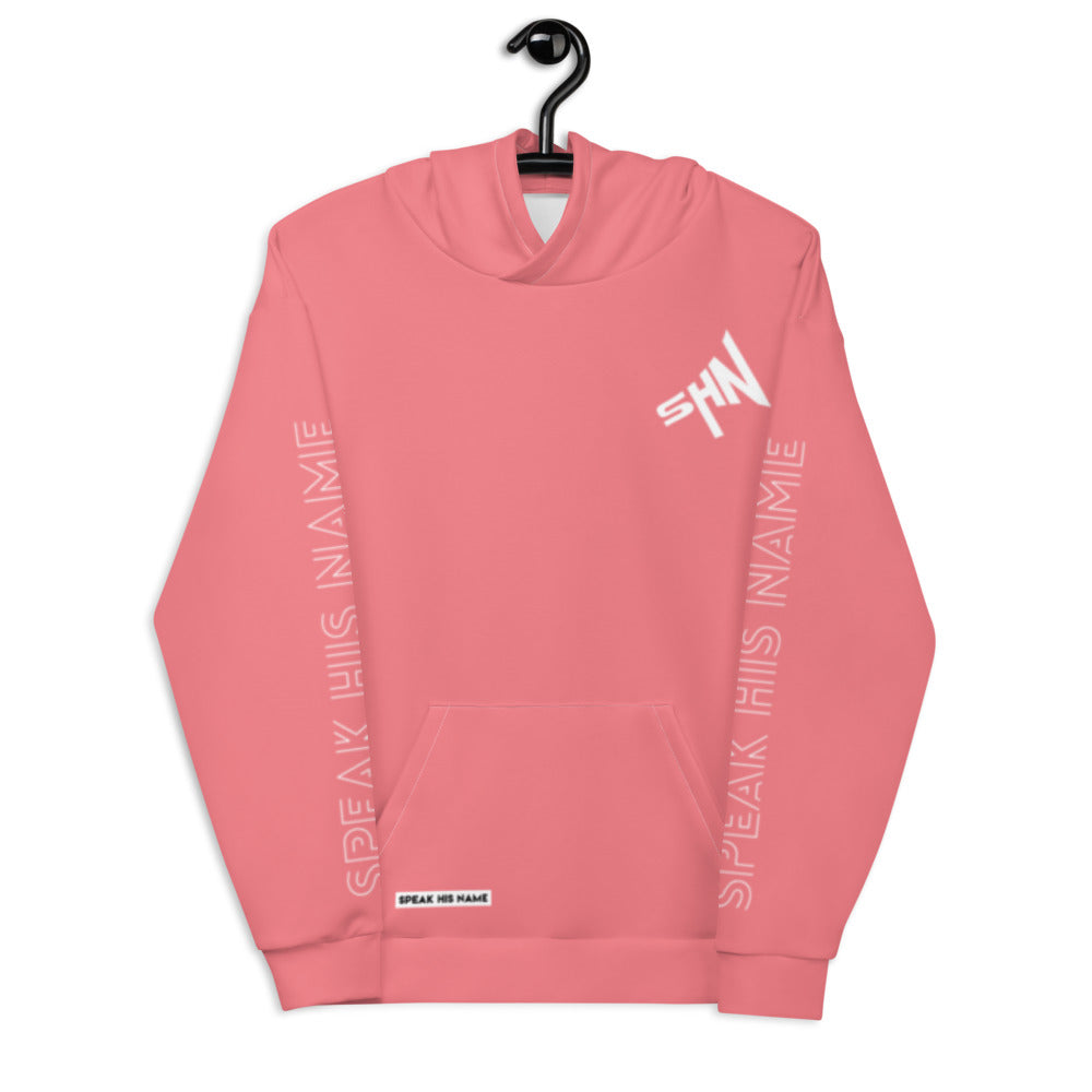 SPEAK CROSS™ HOODIE - MAUVE - Speak His Name