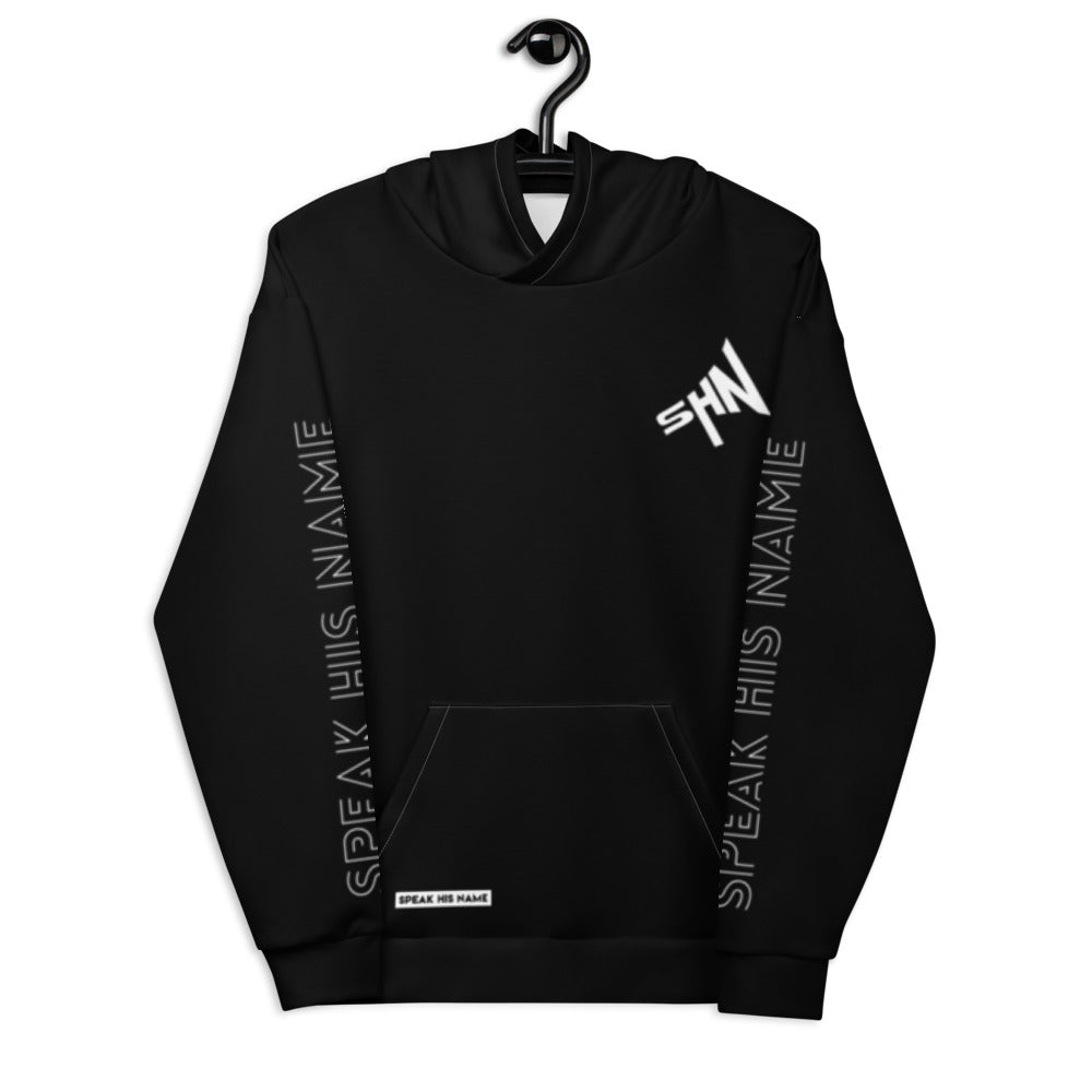 SPEAK CROSS™ HOODIE - BLACK - Speak His Name