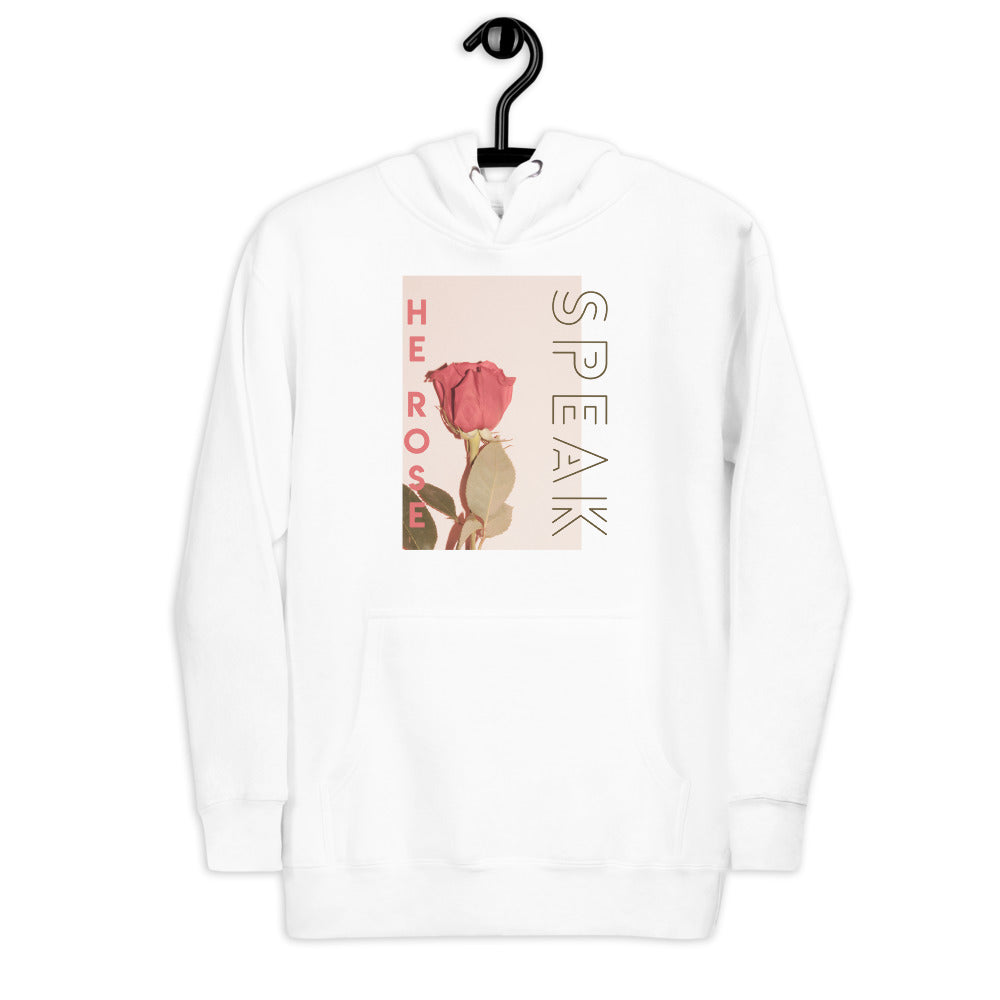 SPEAK HE ROSE™ WOMEN HOODIE - Speak His Name