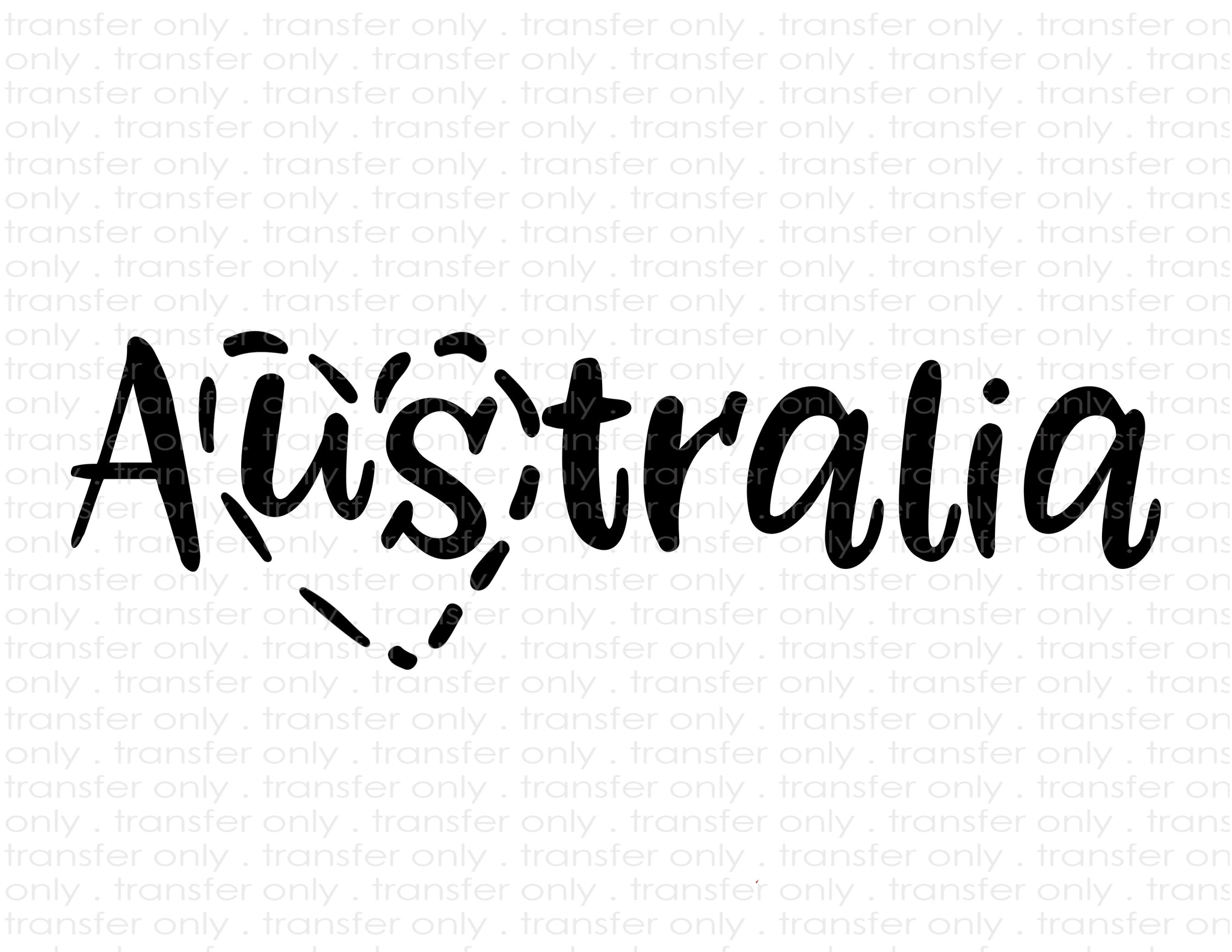 Australia Love (Sublimation Transfer)
