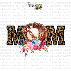Baseball Mom (Sublimation Transfer)
