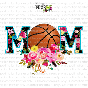Basketball Mom (Sublimation Transfer)